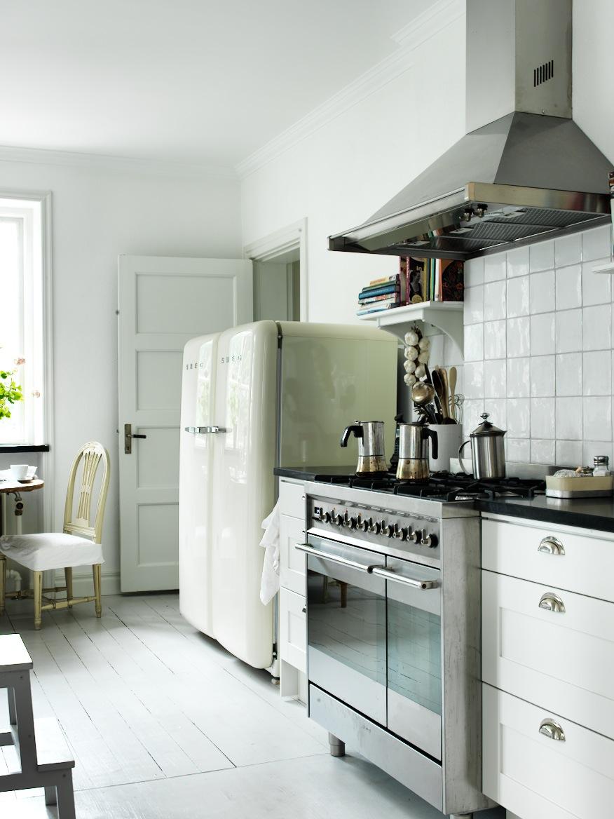 Hus i skogen valg av stekeovn smeg for Smeg kitchen designs